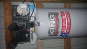 King industrial air compressor