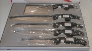 HOFFMAYRO SET OF 5 CUTTING KNIVES + BOX
