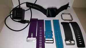 Fitbit blaze with extra bands and frames!!
