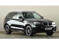 2015 BMW X3 xDrive20d M Sport 5dr Step Auto SUV diesel Automatic