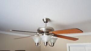 Ventilateur de plafond 52 po
