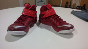 Brand New Nike Zoom LeBron Soldier 8 Fire Red -11.5