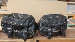Harley Davidson Saddlebags from Soft Tail Classic