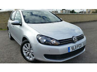 VW GOLF 1.4 TSI MATCH TURBO, VW SERVICE HISTORY