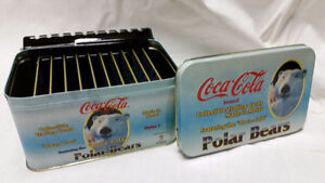 1993-Coca-Cola-Polar-Bear-Collectible-METAL trading card set