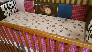 Western 13pc crib bedding set