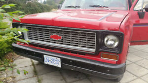 74 Chev 2wd. 305 4bbl must sell too many trucks!
