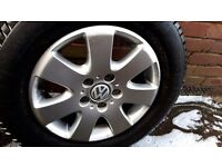 "VW T5 16"" Alloys caravelle/transporter/California"