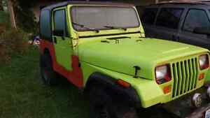 Jeep as is