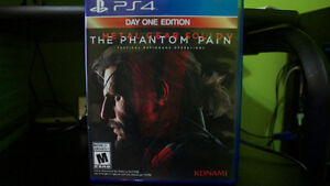 Metal Gear Solid V The Phantom Pain - PS4 - Excellent Condition Cambridge Kitchener Area image 2