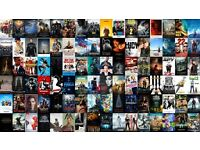 750+ HD MOVIES ON PORTABLE HARD DRIVE - FREE DELIVERY