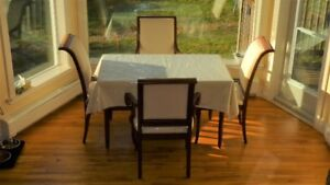 4 kitchen dining chairs orig. $2500