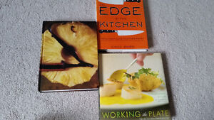 3 cooking reference books