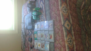 Nintendo 64 with 14 games and 2 remotes!