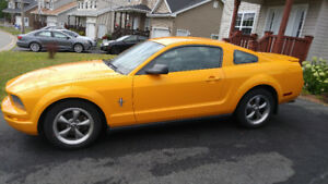 2007 Ford Mustang V6 Pony Package