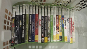 **** Over 50 Authentic Xbox 360 Games for Sale or Trade!!! ****