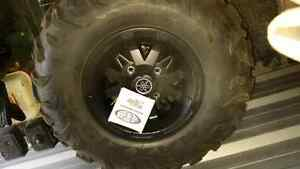 Grizzly 700 se rims and tires