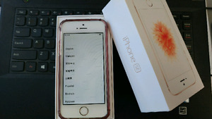 64g rose gold iphone SE rogers