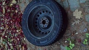215/60r17 Winter Tires With Rings Cambridge Kitchener Area image 3