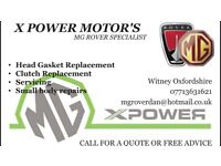 X power motors specialist in Mg rover repair coupe 216 zr zt tf 200 vvc lotus kv6