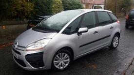 2007 07 CITROEN C4 PICASSO 1.6HDi SX 110BHP WITH A FULL CITROEN S/HISTORY.2 KEYS