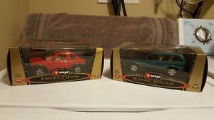 Burago - Bijoux Collection - 1:24 Scale - New in Boxes - 1998