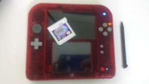 Hacked Nintendo 2DS w/ 32 GB worth of games LOOK INSIDE!!