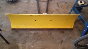 4 foot quad blade and bracket trade for a good snowblower