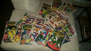 HUGE COLLECTION OF MARVEL COMICS THE AMAZING SPIDER-MAN! KEYS