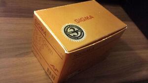 Sigma 70-210mm f4-5.6 UC-II AF lens