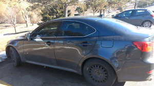 Lexus is 250 great condition charcoal grey