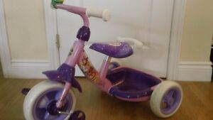 Princess Tricycle with Kitty Cat Bike Helmet