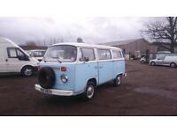 Volkswagen DELIVERY VAN T2 Camper, 1 years MOT, Bay Front