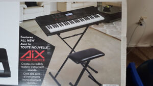 New Casio Digital Piano With Stand and Bench in original box
