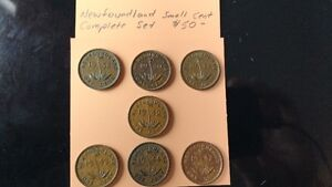 Newfoundland Small Cent........................COMPLETE SET