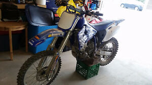 Trade yz426f (w ownership) for 250 4 stroke