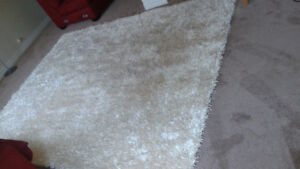 SOLD - Ivory Shag Rug – Must Have! A Great X-mas Gift!