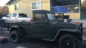 Wanted- 1950's Willys pickup truck