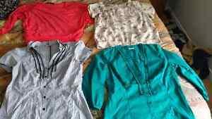 Chemises - Chandails propres - Camisoles XS-S-M VOIR PHOTOS !!!