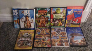 Full Length Kids DVDs