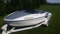 YAMAHA XR1800 310 HP TWIN JET BOAT 2 NEW GP1200S BY YAMAHA