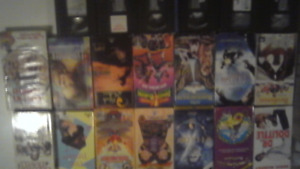 20 vhs with player