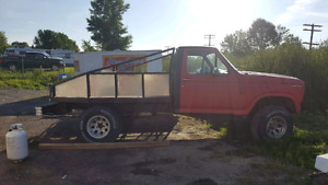 1980 f150 front end and vin on 1994 f150 truck with custom box