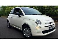 2017 Fiat 500 1.2 Pop 3dr Manual Petrol Hatchback