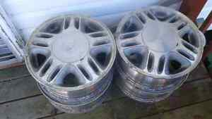 """4 X 15"""" Alloy Rims from Chevy Venture"""