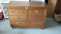 Chest/Table for sale with 6 drawers..Reduced price