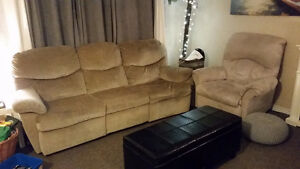 Lazy Boy Couch and Recliner