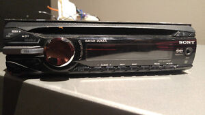 Sony Single Din Receiver with Aux