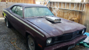 1975 Plymouth Duster project for sale