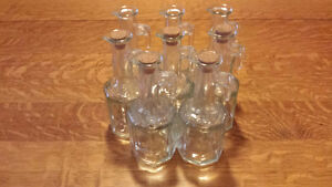 8 Brand New Vinegar/Maple Syrup/Oil Bottles With Cork & Handle!